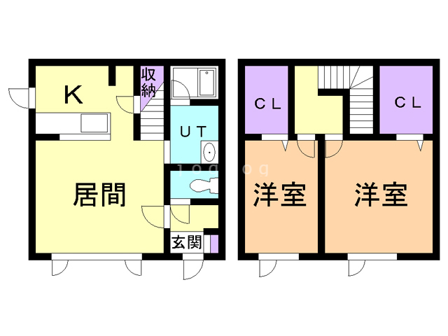 COZY514 A 間取り図
