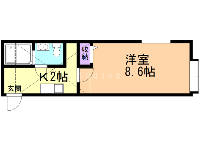 compartment南小樽 間取り