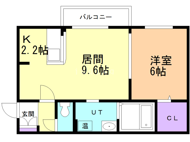 Pace住吉 205 間取り図