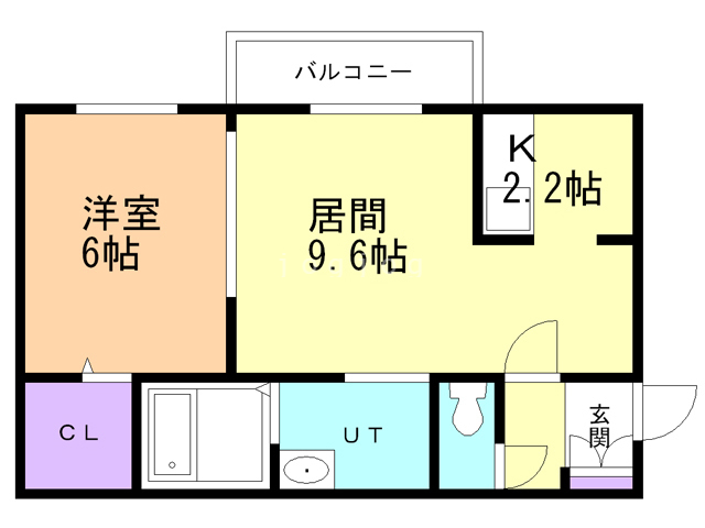 Pace住吉 203 間取り図