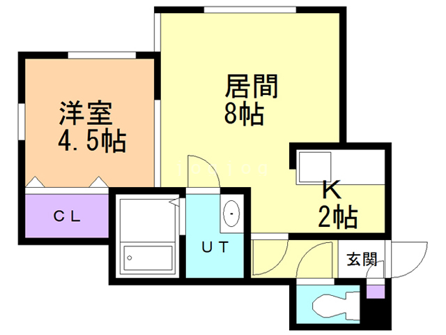 TAKES 202 間取り図