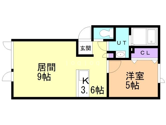 I'll Have Another 2-B 間取り図
